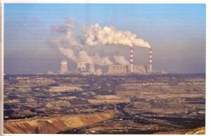 Fumée charbon Pologne