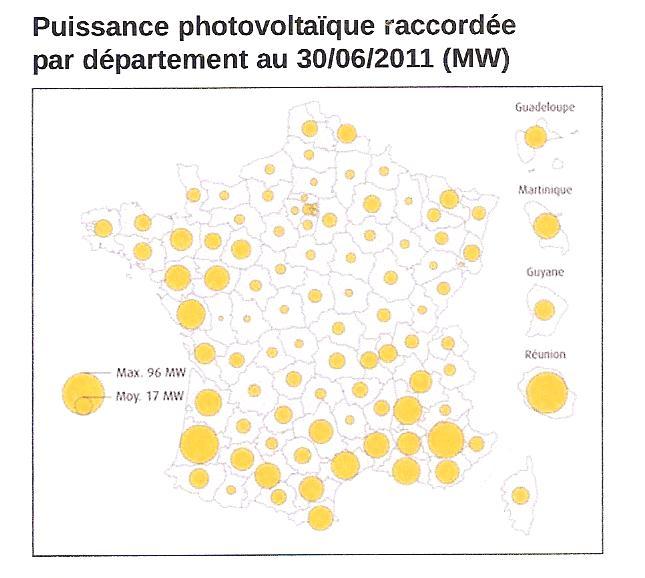 bfad8b0fc7 ... de faible puissance correspondant à des panneaux domestiques), elle est  concentrée dans le sud/sud-ouest de la France (cf. la carte des chiffres  clés).